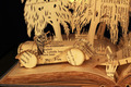 Book Sculpture - the-wind-in-the-willows fan art