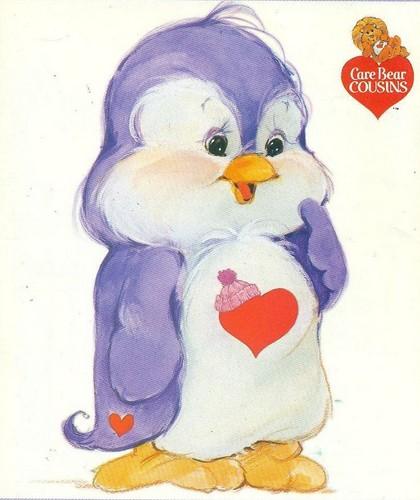 Care Bears wallpaper titled Cozy Heart Penguin