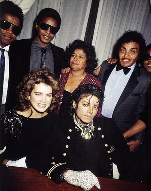 Brooke Shields And The Jacksons