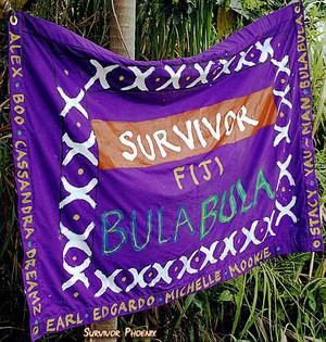 Bula Bula (Merged) Tribe Flag (Fiji)
