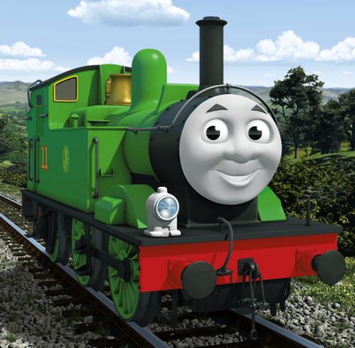 Thomas the Tank Engine wallpaper titled CGI Oliver