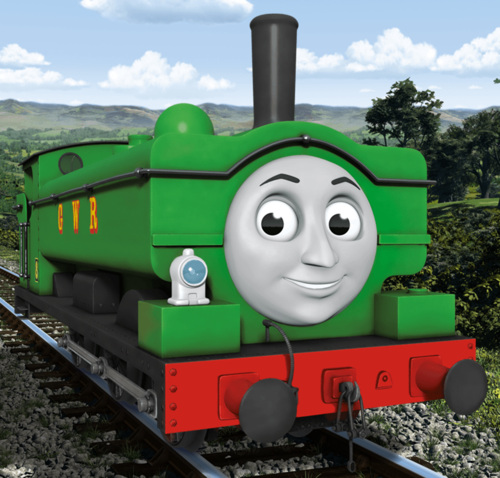 Thomas the Tank Engine wallpaper entitled CGI Duck