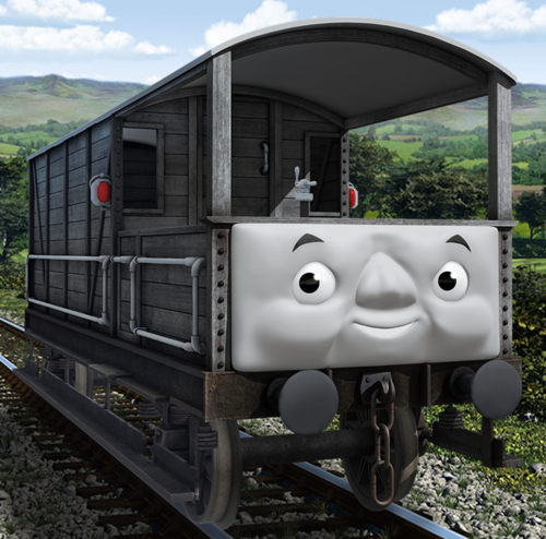 Thomas the Tank Engine wallpaper entitled CGI Toad