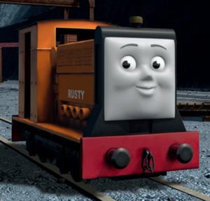 CGI Rusty