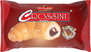 CROSSINI rolls FRENCH CLASSIC CHOCO HAZELNUT