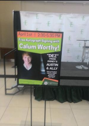 Calum Worthy