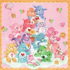 Care Bears wallpaper entitled Care Bears and Cousins