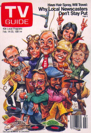 Caricature TV Guide Cover