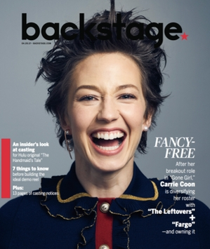 Carrie Coon for Backstage
