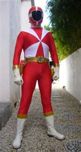 Carter Morphed As The Red Lightspeed Rescue Ranger