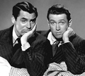 Cary Grant And James Stewart - classic-movies photo