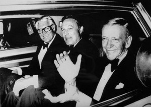Cary Grant,Gene Kelly and Fred Astaire (rare photo)