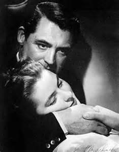 Cary Grant and Ingrid Bergman