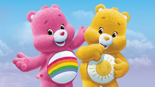 Care Bears wallpaper entitled Cheer Bear and Funshine Bear