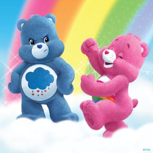 Care Bears wallpaper titled Chin up, Grumpy!