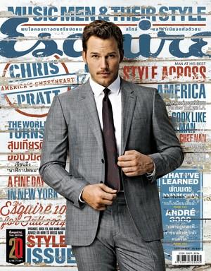 Chris Pratt - Esquire Cover - 2014