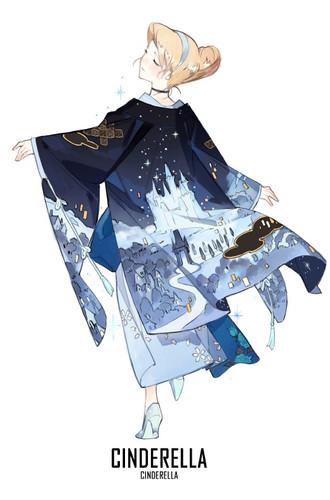 Princess সিন্ড্রেলা দেওয়ালপত্র titled সিন্ড্রেলা