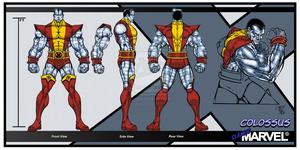 Classic Marvel Colossus سے طرف کی skywarp 2