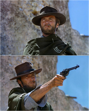 Clint Eastwood For A Few Dollars mais 1965