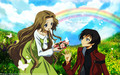 Code Geass (Lelouch and Nunnally) - code-geass wallpaper