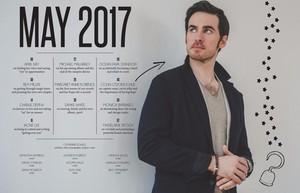Colin O'Donoghue | NKD Magazine (May 2017)