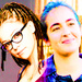Cosima and Tara - orphan-black icon