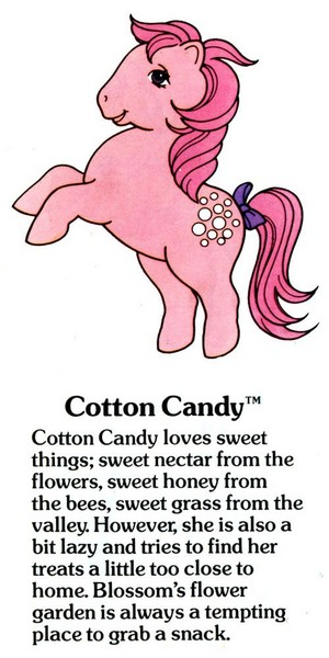 Cotton Candy Fact File