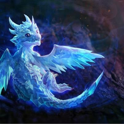 Dragons پیپر وال entitled Crystal Dragon