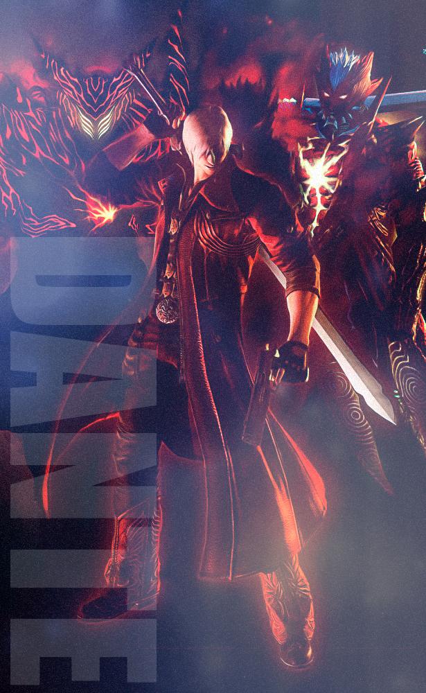 Dmc4 Dante Devil May Cry 4 Fan Art 40387759 Fanpop