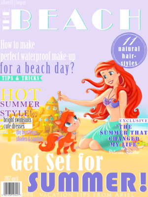 DP Magazine cover -The BEACH