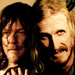 Daryl and Dwight - daryl-dixon icon