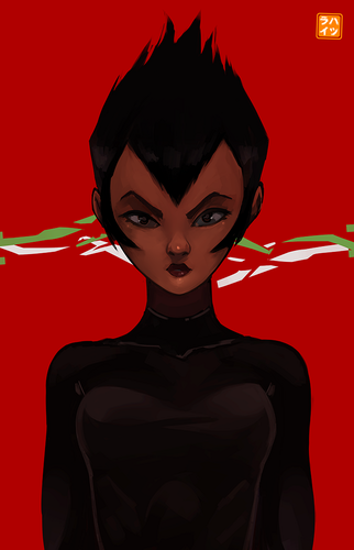 Samurai Jack Hintergrund entitled Daughter of Aku Von Hatsuraikun