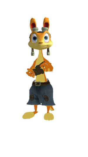 Daxter with Close Smile Faces XPS and MMD