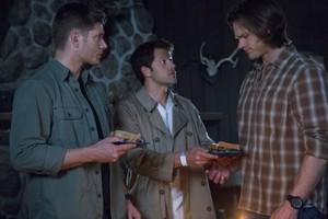 Dean and Sam Winchester Castiel