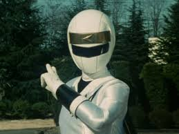 Delphine Morphed As The White Alien Ranger