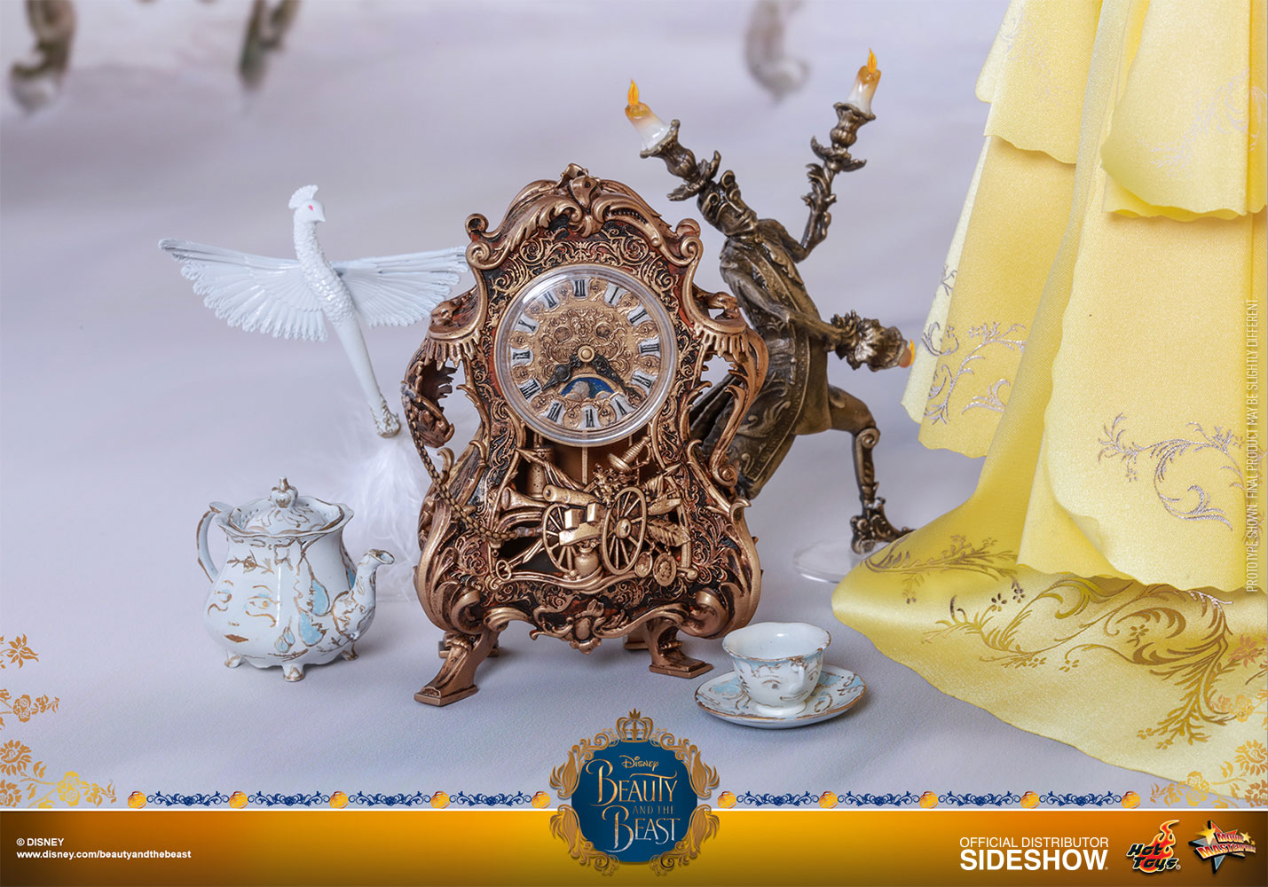 Beauty And The Beast Collectibles >> Disney Belle Sixth Scale Collectible Figure By Hot Toys Beauty And