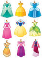 Disney Princess Dresses - disney-princess fan art
