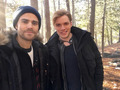 Dominic and Paul Wesley