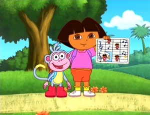 Dora And Boots Going To School