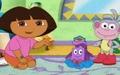 Dora kostumlu canta toreni