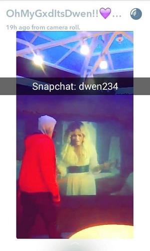 Dwen Gyimah Demi Lovato Snapchat