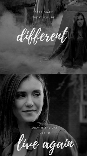 Vampire Diaries – Fernsehserie Hintergrund entitled Elena