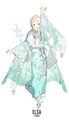 Elsa - childhood-animated-movie-heroines fan art