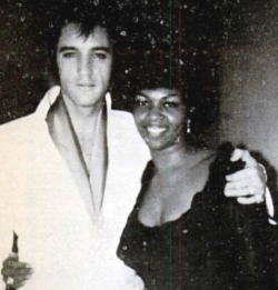 Elvis And Backing Vocalist, Cissy Houston