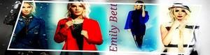 Emily Bett Rickards - profilo Banner