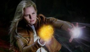 Emma हंस using her powers