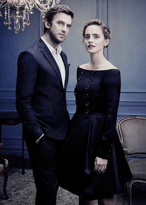 Emma and Dan (The Hollywood Reporter,Russia photoshoot