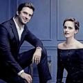 Emma and Dan (The Hollywood Reporter,Russia photoshoot - emma-watson photo