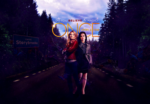 Once Upon A Time wallpaper called Emma and Regina
