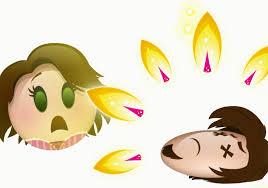 Emoji tangled